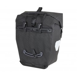 Sacoches Ortlieb Back Roller High Visibility noir QL 2.1 sans PVC