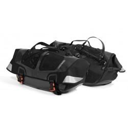 Sacoches latérales noires pour vélo couché