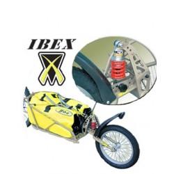 Remorque mono-roue B.O.B. Ibex avec sac étanche