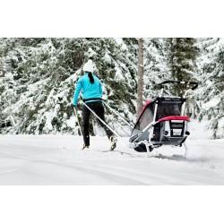 Kit ski de fond pour remorque Chariot