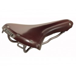 Selle Brooks B15 Swallow Titane/ marron