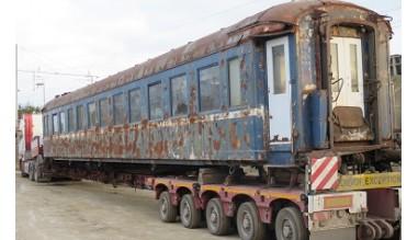VL 3880 en route vers l'atelier de restauration